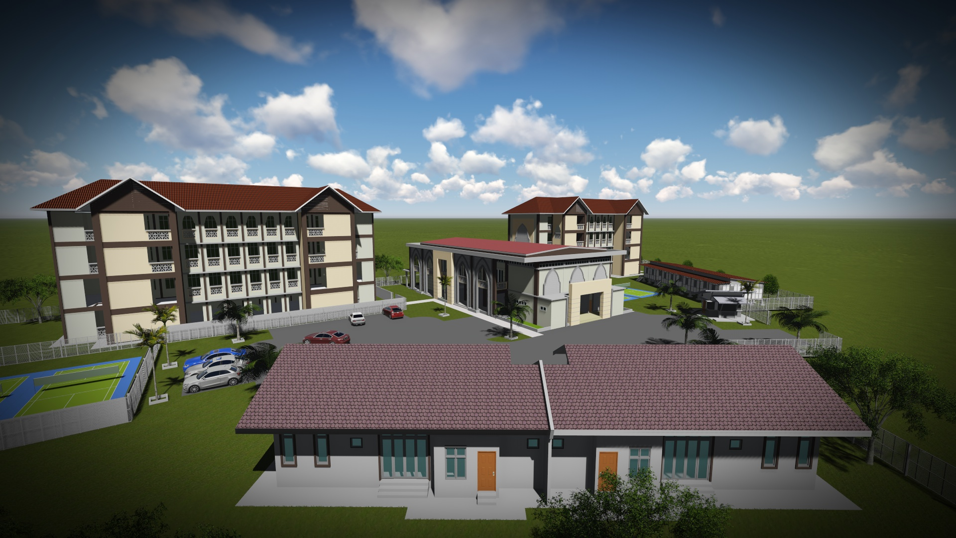 Pembangunan Pondok Bunut Payong